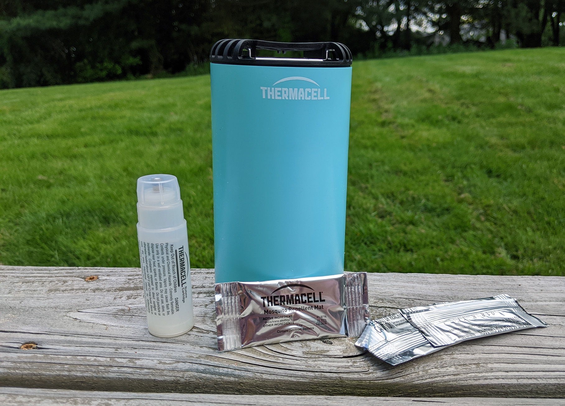 thermacell mosquito repellent unboxed